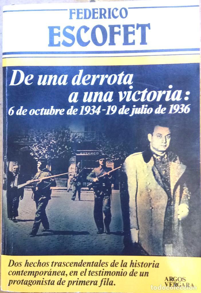 Libros antiguos: LIBRO JEFE DE MOSSOS DESQUADRA DE CATALUNYA REPUBLICANA FREDERIC ESCOFET,FIRMADO Y DEDICADO,POLICIA - Foto 3 - 120985043