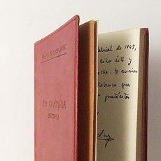 Libros antiguos: P. DE ESCALANTE : EN CAMPAÑA. (POESÍAS. GUERRA CIVIL, SANTANDER. AUTÓGRAFO. . Lote 122193351