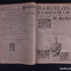 Libros antiguos: EL ALCAZAR, ENERO A MARZO DE 1939. Lote 124449439