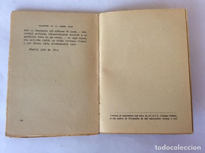 Libros antiguos: LIBRO. EDICIONES GUERRA CIVIL. MADRID NOVIEMBRE 1936, REPUBLICA. GALDOS. EL 2 DE MAYO. - Foto 6 - 125224567