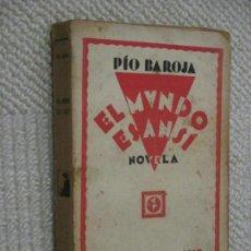 Libros antiguos: EL MUNDO ES ANSÍ, POR PÍO BAROJA, RAFAEL CARO RAGGIO,. Lote 129296895