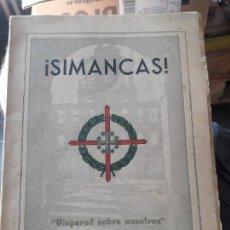 Libros antiguos: SIMANCAS EPOPEYA DE LOS CUARTELES DE GIJÓN. TIPOGRAFÍA LA INDUSTRIA. SIN FECHA BUEN ESTADO. Lote 133464510