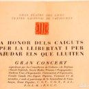 Libros antiguos: A HONOR DELS CAIGUTS PER LA LLIBERTAT - CNT - POUM - UGT - FAI I PSUC. Lote 133549406