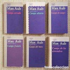Libros antiguos: MAX AUB : EL LABERINTO MÁGICO (OBRA COMPLETA EN 6 VOLÚMENES. ALFAGUARA) . Lote 133560050