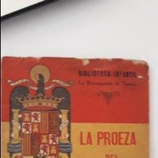 Libros antiguos: LA PROEZA DEL ESTRECHO DE GIBRALTAR 1939. Lote 136094658
