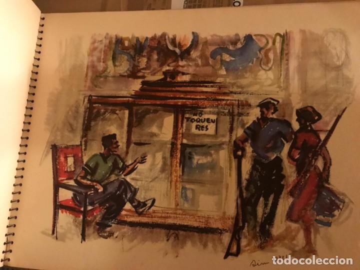 Libros antiguos: GUERRA CIVIL. C.N.T. F.A.I. ESTAMPAS DE LA REVOLUCIÓN ESPAÑOLA POR SIM 1936 ORIGINAL Y COMPLETO - Foto 7 - 141171509