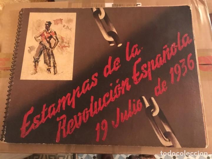 Libros antiguos: GUERRA CIVIL. C.N.T. F.A.I. ESTAMPAS DE LA REVOLUCIÓN ESPAÑOLA POR SIM 1936 ORIGINAL Y COMPLETO - Foto 8 - 141171509