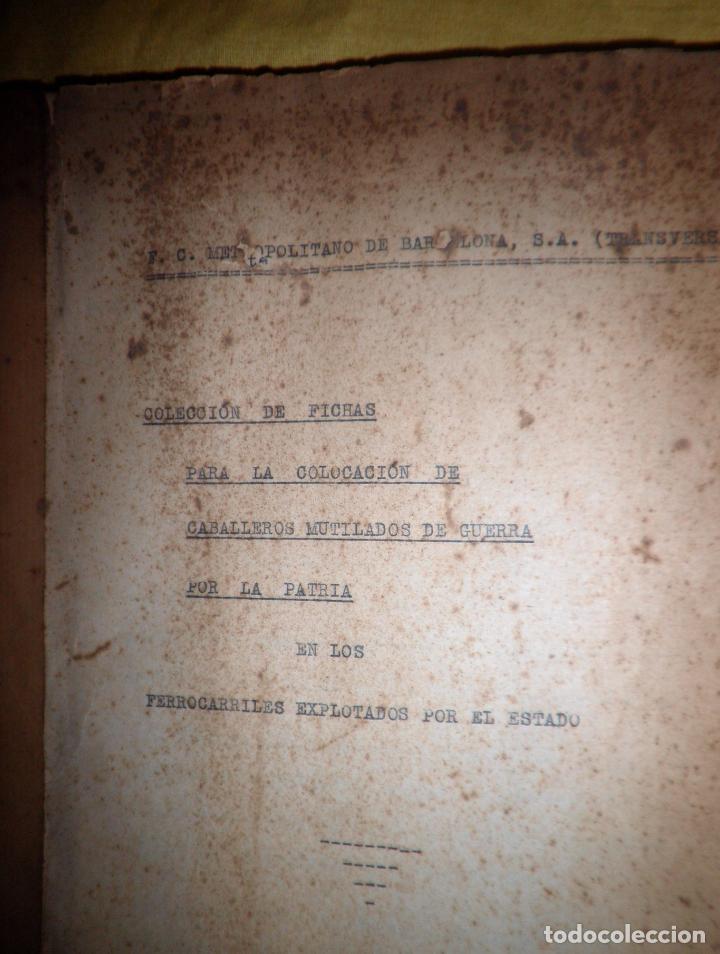 Libros antiguos: CABALLEROS MUTILADOS DE GUERRA POR LA PATRIA - VITORIA AÑO 1938 - GUERRA CIVIL. - Foto 4 - 143734282