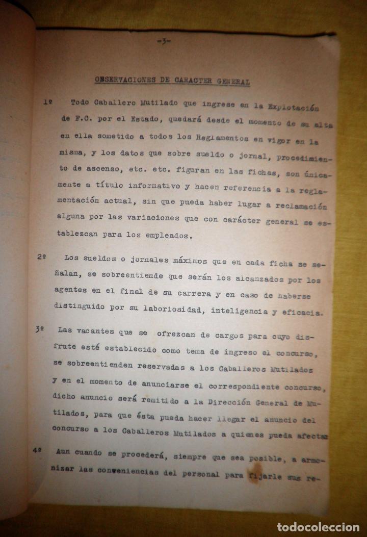 Libros antiguos: CABALLEROS MUTILADOS DE GUERRA POR LA PATRIA - VITORIA AÑO 1938 - GUERRA CIVIL. - Foto 7 - 143734282