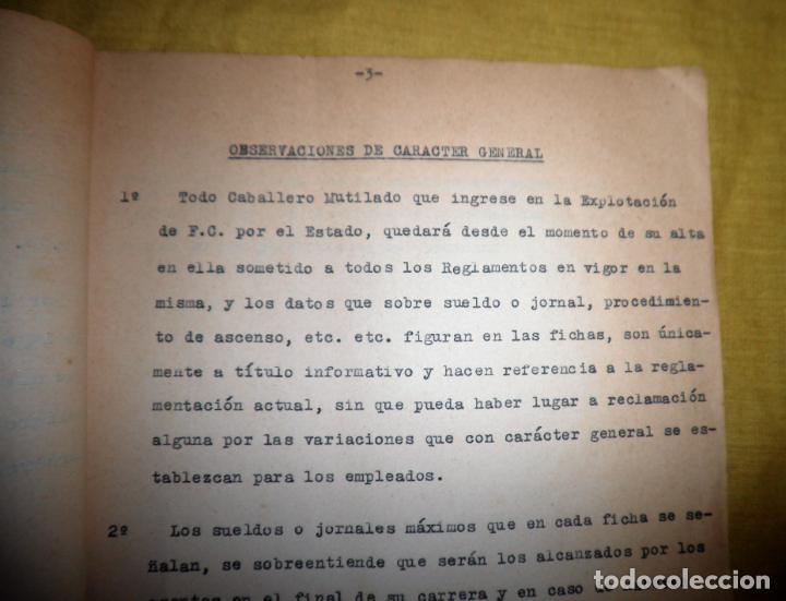 Libros antiguos: CABALLEROS MUTILADOS DE GUERRA POR LA PATRIA - VITORIA AÑO 1938 - GUERRA CIVIL. - Foto 8 - 143734282