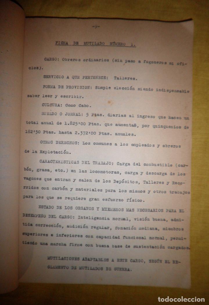 Libros antiguos: CABALLEROS MUTILADOS DE GUERRA POR LA PATRIA - VITORIA AÑO 1938 - GUERRA CIVIL. - Foto 9 - 143734282