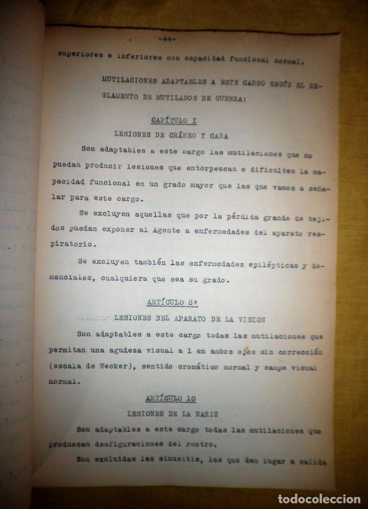 Libros antiguos: CABALLEROS MUTILADOS DE GUERRA POR LA PATRIA - VITORIA AÑO 1938 - GUERRA CIVIL. - Foto 12 - 143734282