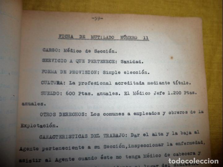 Libros antiguos: CABALLEROS MUTILADOS DE GUERRA POR LA PATRIA - VITORIA AÑO 1938 - GUERRA CIVIL. - Foto 13 - 143734282