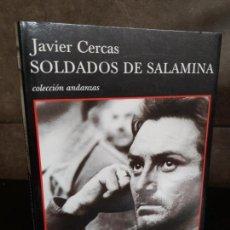 Libros antiguos: JAVIER CERCAS, SOLDADOS DE SALAMINA, TUSQUETS. Lote 145729098