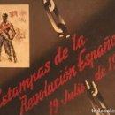 Libros antiguos: GUERRA CIVIL. C.N.T. F.A.I. ESTAMPAS DE LA REVOLUCIÓN ESPAÑOLA POR SIM 1936 ORIGINAL Y COMPLETO. Lote 141171509