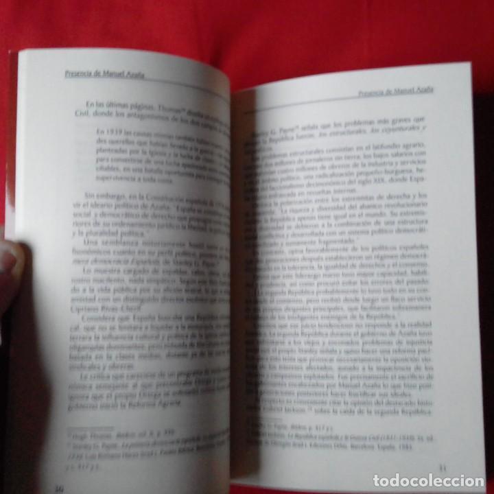 Libros antiguos: PRESENCIA DE MANUEL AZAÑA. JUAN BAUTISTA CLIMENT BELTRAN. EDAMEX 2001 - Foto 3 - 149229686