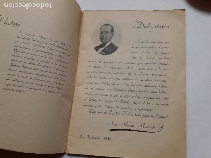 Libros antiguos: LATIDOS DE UN ESPAÑOL- Jose Maria Monterde - Foto 4 - 149547466