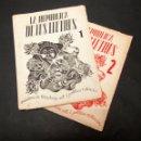 Libros antiguos: LA REPUBLICA DE LES LLETRES Nº 1 I 2 - QUADERNS DE LITERATURA ART I POLITICA - RENAU. Lote 149601858