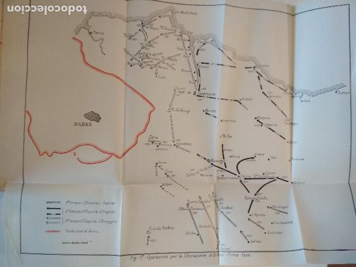 Libros antiguos: VENTI MESI DI GUERRA IN SPAGNA 1936 1938 EMILIO FALDELLA LE MONNIER 1939 CIVIL ctv plano mapa - Foto 7 - 150752634
