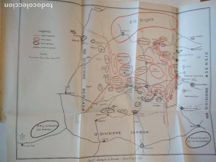 Libros antiguos: VENTI MESI DI GUERRA IN SPAGNA 1936 1938 EMILIO FALDELLA LE MONNIER 1939 CIVIL ctv plano mapa - Foto 9 - 150752634