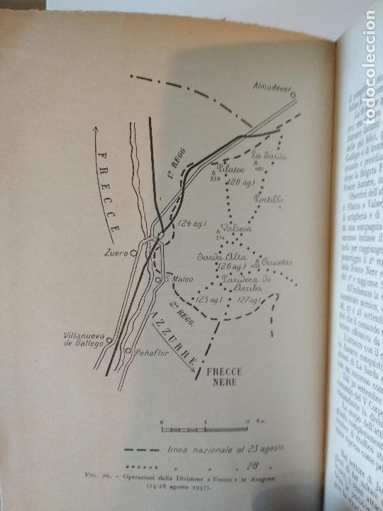 Libros antiguos: VENTI MESI DI GUERRA IN SPAGNA 1936 1938 EMILIO FALDELLA LE MONNIER 1939 CIVIL ctv plano mapa - Foto 11 - 150752634