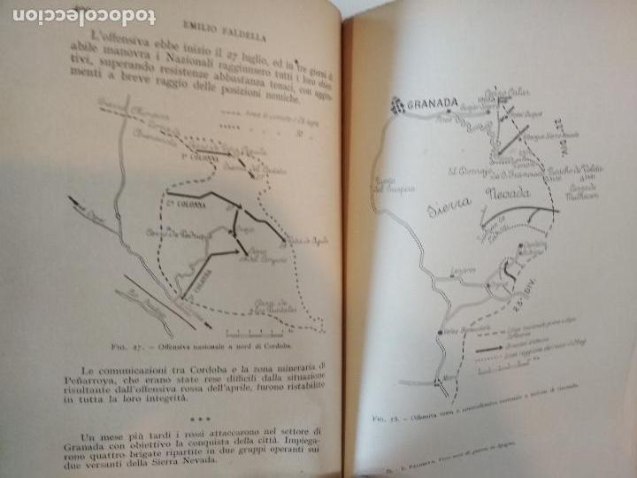 Libros antiguos: VENTI MESI DI GUERRA IN SPAGNA 1936 1938 EMILIO FALDELLA LE MONNIER 1939 CIVIL ctv plano mapa - Foto 12 - 150752634