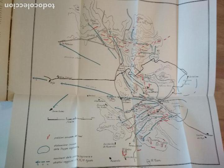 Libros antiguos: VENTI MESI DI GUERRA IN SPAGNA 1936 1938 EMILIO FALDELLA LE MONNIER 1939 CIVIL ctv plano mapa - Foto 13 - 150752634