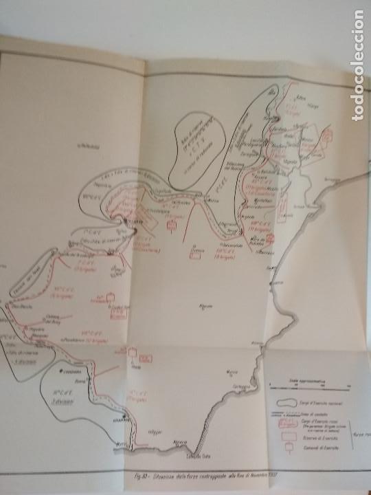 Libros antiguos: VENTI MESI DI GUERRA IN SPAGNA 1936 1938 EMILIO FALDELLA LE MONNIER 1939 CIVIL ctv plano mapa - Foto 15 - 150752634