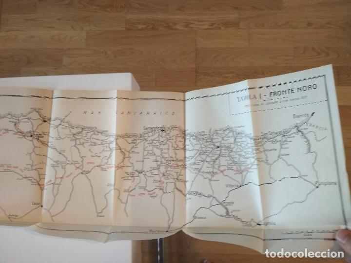 Libros antiguos: VENTI MESI DI GUERRA IN SPAGNA 1936 1938 EMILIO FALDELLA LE MONNIER 1939 CIVIL ctv plano mapa - Foto 16 - 150752634