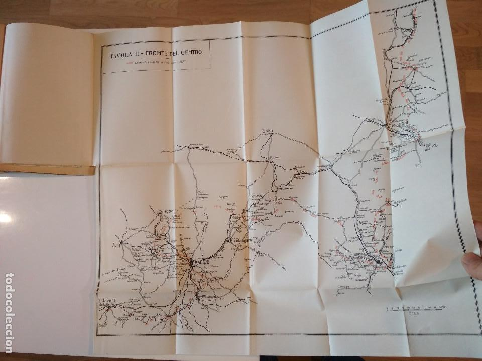 Libros antiguos: VENTI MESI DI GUERRA IN SPAGNA 1936 1938 EMILIO FALDELLA LE MONNIER 1939 CIVIL ctv plano mapa - Foto 17 - 150752634