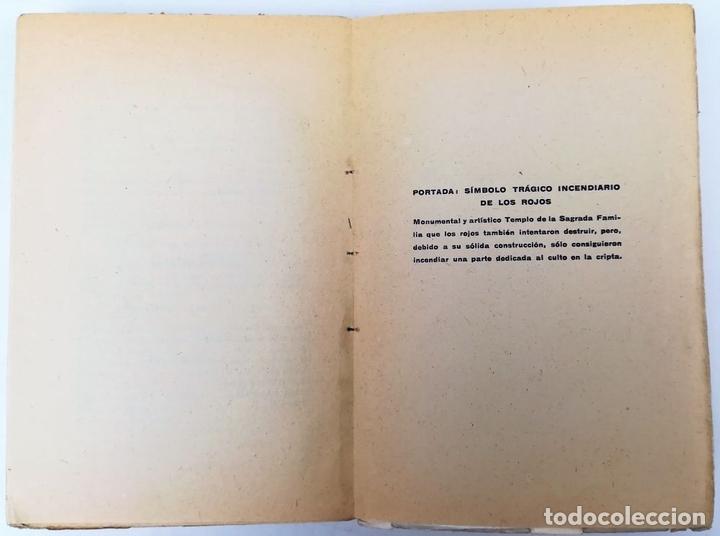 Libros antiguos: LA TRAGEDIA ROJA EN BARCELONA. E. PUIG MORA. TIPOGRAFÍA LA ACADÉMICA. ZARAGOZA 1937 - Foto 5 - 155809838