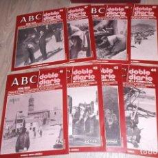 Libros antiguos: ABC. DOBLE DIARIO DE LA GUERRA CIVIL. 1936-1939 - FASCICULOS 41 AL 50 CON ARCHIVADOR. Lote 155913606