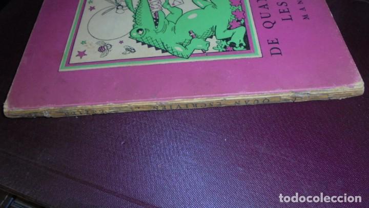 Libros antiguos: DE QUAN ESCRIVIEN LES BÉSTIES , MANUEL AMAT DIBUIXOS ARTUR MORENO 1937 EDITAT PEL COMISSARIAT DE PRO - Foto 2 - 155917938
