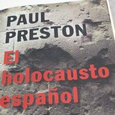 Libros antiguos: EL HOLOCAUSTO ESPAÑOL. Lote 155942690