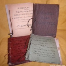Livros antigos: LIBROS MANUSCRITOS II REPUBLICA Y GUERRA CIVIL - GRUP FERRER I GUARDIA GRANOLLERS - ILUMINADOS.. Lote 156889894