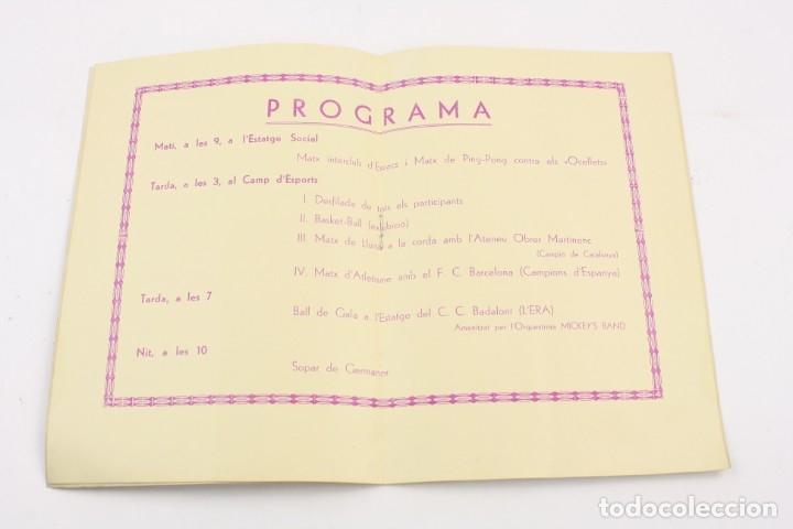 Libros antiguos: Unió gimnàstica i esportiva de Badalona, 1936. 22x15,5cm - Foto 2 - 157696350