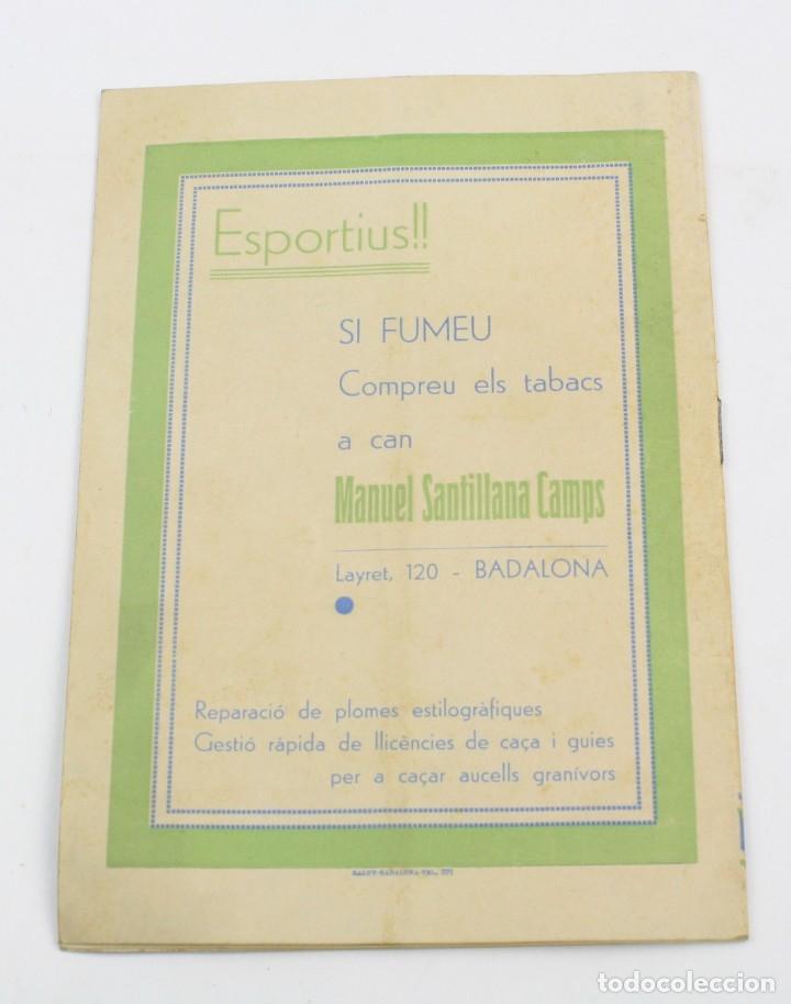 Libros antiguos: Unió gimnàstica i esportiva de Badalona, 1936. 22x15,5cm - Foto 3 - 157696350