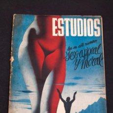 Libros antiguos: ESTUDIOS Nº 153 - MAYO 1936 - COMUNISMO, ANARQUISMO, NUDISMO, NATURISMO. Lote 158132826