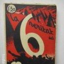 Libros antiguos: COSTA I DEU / SABATÉ : LA VERITAT DEL 6 OCTUBRE (1936) PROCLAMACIÓ DE L' ESTAT CATALÀ 1934. Lote 160934290