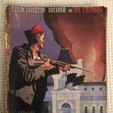 Libros antiguos: LOS CUATRO MESES DE LA MODELO. EL DUENDE AZUL. GUERRA CIVIL. Lote 161725690