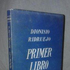 Libros antiguos: PRIMER LIBRO DE AMOR - AÑO 1939 - DIONISIO RIDRUEJO - EDICION NUMERADA.. Lote 165534658