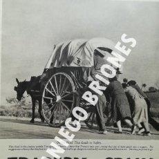 Libros antiguos: PICTURE POST 1939 - GUERRA CIVIL - ROBERT CAPA - REVISTA ORIGINAL - CAMINO DEL EXILIO. Lote 165738078
