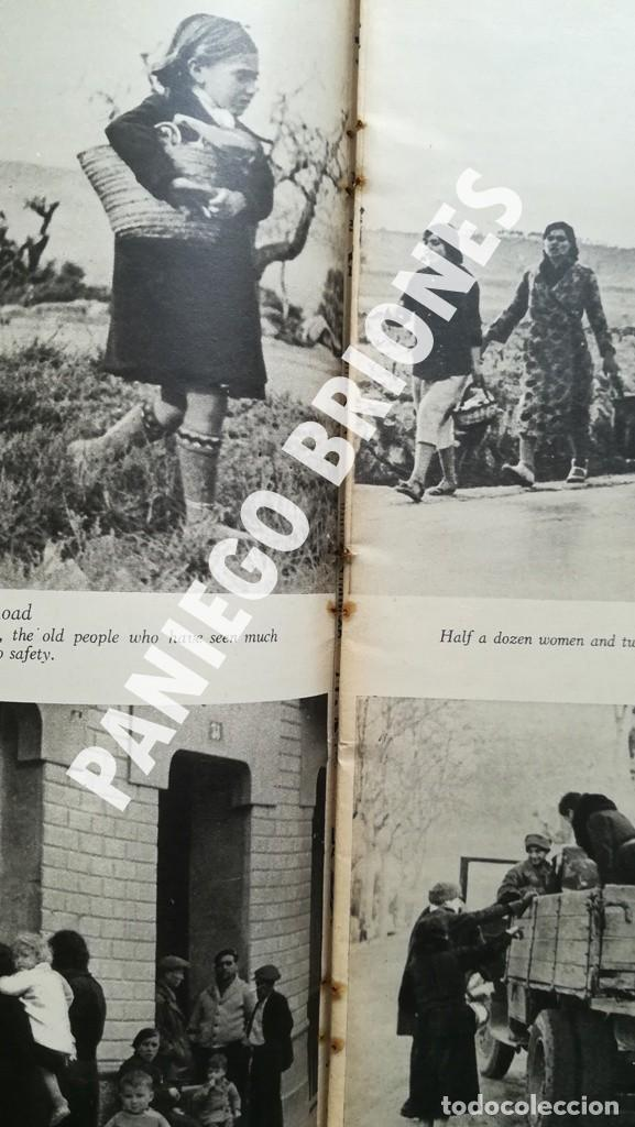 Libros antiguos: PICTURE POST 1939 - GUERRA CIVIL - ROBERT CAPA - REVISTA ORIGINAL - CAMINO DEL EXILIO - Foto 7 - 165738078