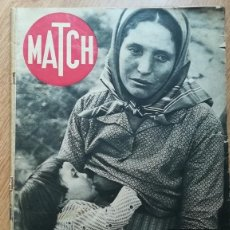 Libros antiguos: MATCH 1939 - GUERRA CIVIL - REVISTA ORIGINAL - BARCELONA. Lote 165739190