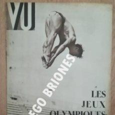 Libros antiguos: VU 1936 - GUERRA CIVIL - JUEGOS OLIMPICOS - REVISTA ORIGINAL. Lote 165739830