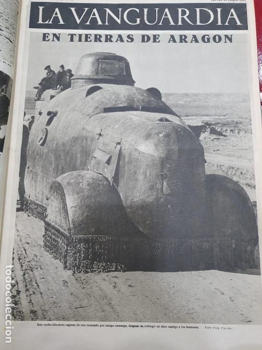 Libros antiguos: Tomo I con 75 notas gráficas La Vanguardia, del bando Republicano, muy buen estado, 1937 - Foto 19 - 167942420