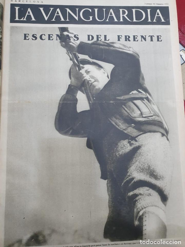 Libros antiguos: Tomo I con 75 notas gráficas La Vanguardia, del bando Republicano, muy buen estado, 1937 - Foto 26 - 167942420