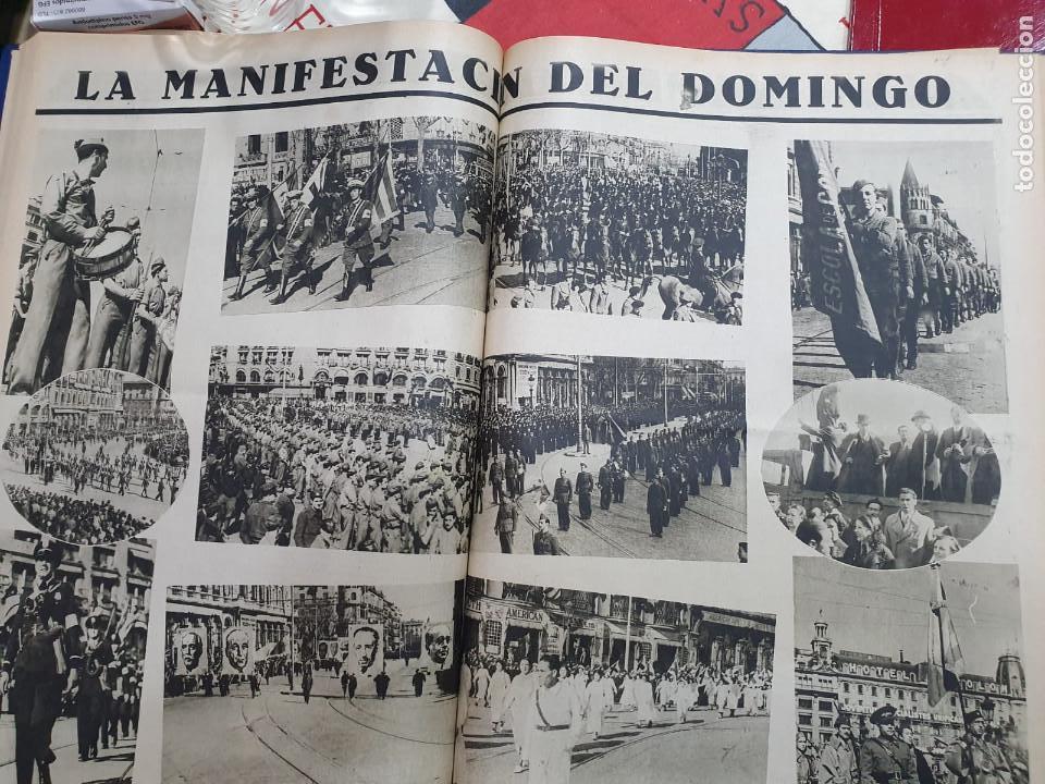 Libros antiguos: Tomo I con 75 notas gráficas La Vanguardia, del bando Republicano, muy buen estado, 1937 - Foto 33 - 167942420