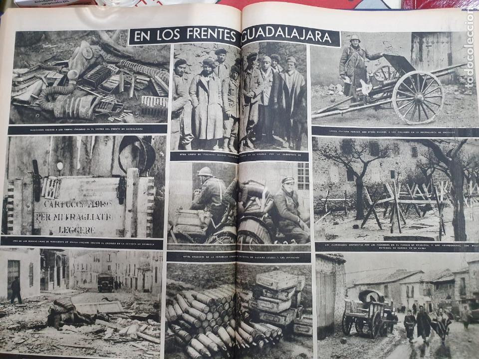Libros antiguos: Tomo I con 75 notas gráficas La Vanguardia, del bando Republicano, muy buen estado, 1937 - Foto 44 - 167942420