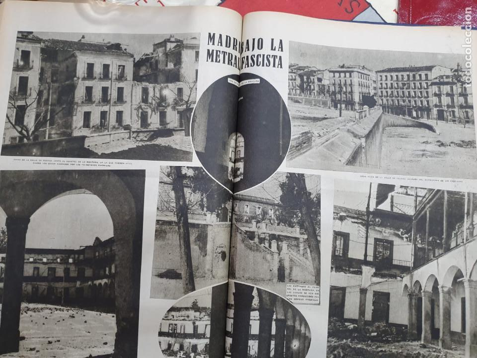 Libros antiguos: Tomo I con 75 notas gráficas La Vanguardia, del bando Republicano, muy buen estado, 1937 - Foto 51 - 167942420